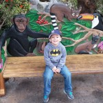 Evan at the San Deigo Zoo