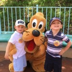 Evan and AJ meet Evan's Hero Pluto